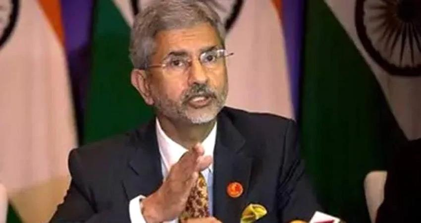 foreign minister s jaishankar big statement on pok, said  india will soon be part of