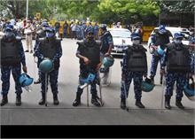 भारत बंद: दिल्ली पुलिस ने सीमा पर सुरक्षा कड़ी की