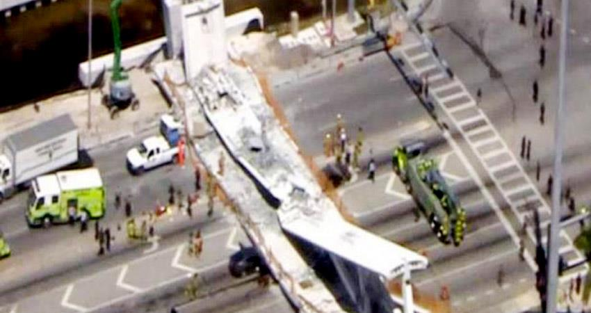 4-dead-as-pedestrian-bridge-collapses-at-florida-international-university-in-america