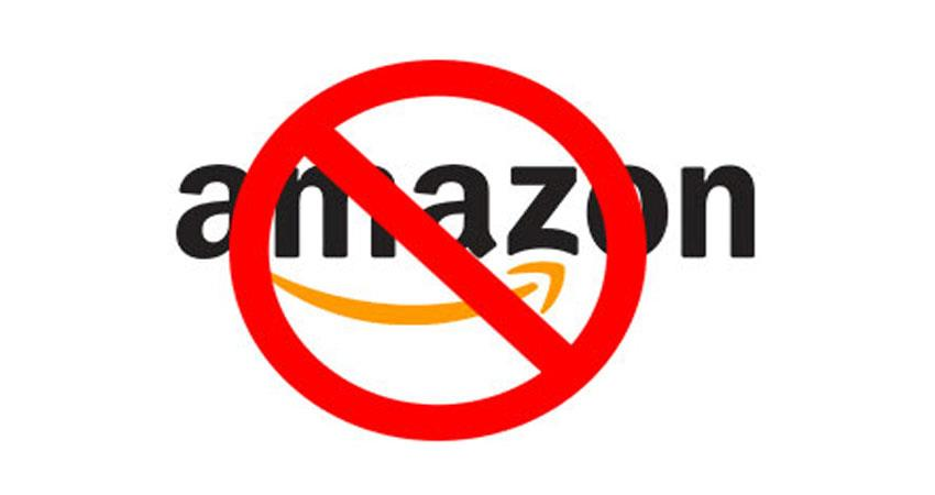 users protest for amazon for tandav anjsnt