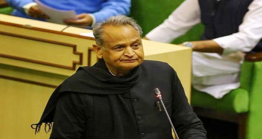 rajasthan budget 2020 cm ashok gehlot congress