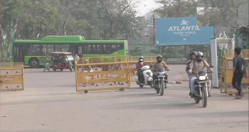 vehicular movement on noida faridabad road blocked for 69 days due to caa protest