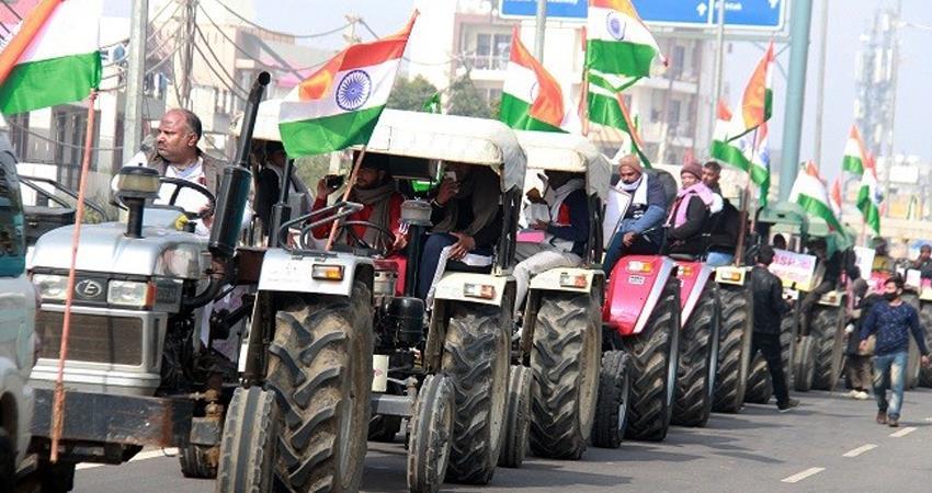गणतंत्र दिवस परेड के बाद ही ट्रैक्टर परेड निकाल सकेंगे किसान, पुलिस की होगी  कड़ी सुरक्षा - Farmers will be able to take out tractor parade only after  Republic Day parade prshnt