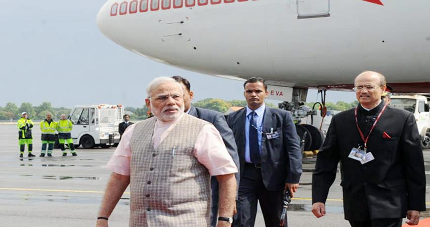 iaf pilot, air india trained to fly pm''''''''''''''''s new aircraft