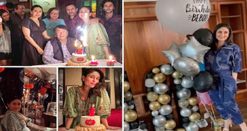 kareena kapoor khan celebrates birthday with family  see pictures anjsnt