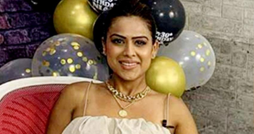 nia sharma brutally trolled for her birthday cake design users call her besharam aljwnt