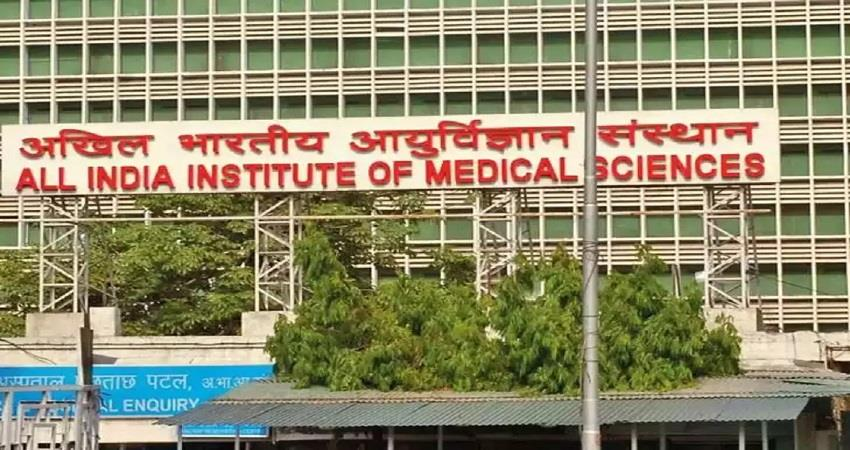 aiims temporarily closed OPD service due to Corona rise in Delhi KMBSNT