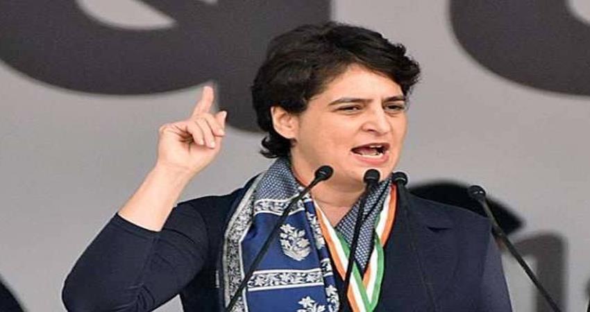 congress priyanka gandhi vadra attack bjp government hardik patel arrested
