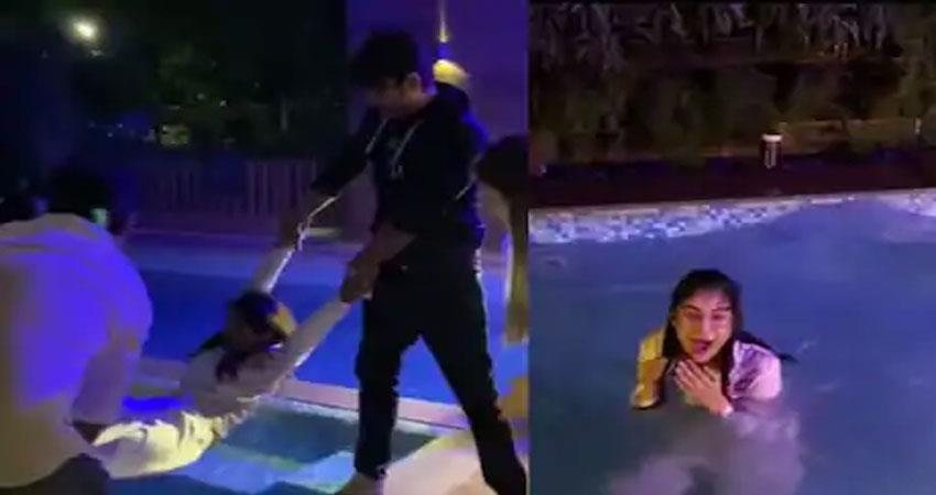 video on the birthday something like this happened to shehnaaz anjsnt