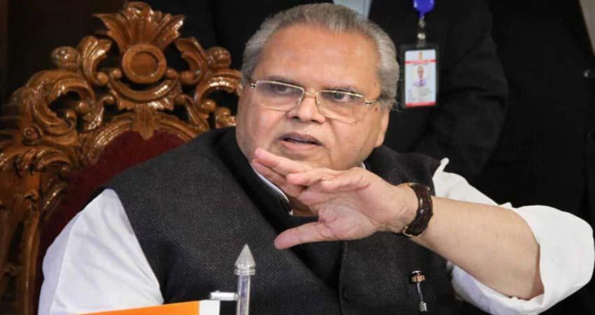 governor satyapal malik convened emergency meeting in srinagar
