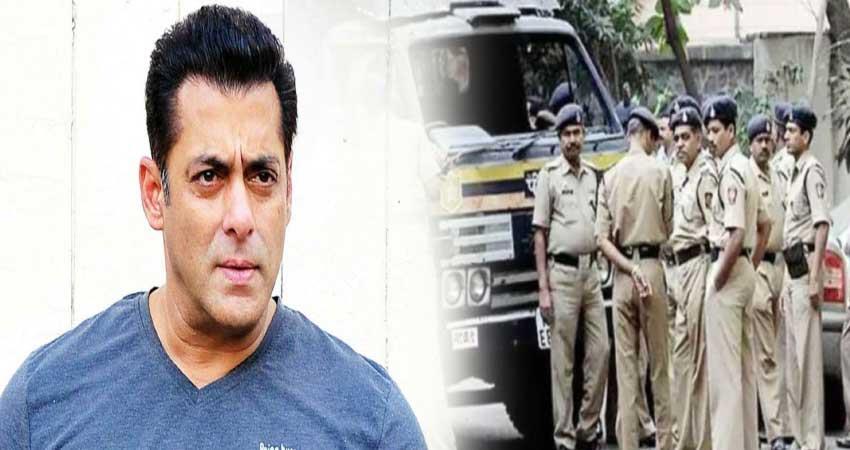 mumbai police arrested a person salman khan bungalow