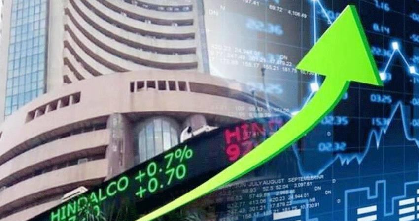 Stock market created history today Sensex crosses 49,000 for the first time Nifty also gains prshnt