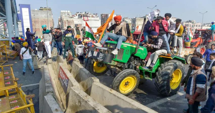 farmer protest shocks economy back on track loss of crores so far pragnt