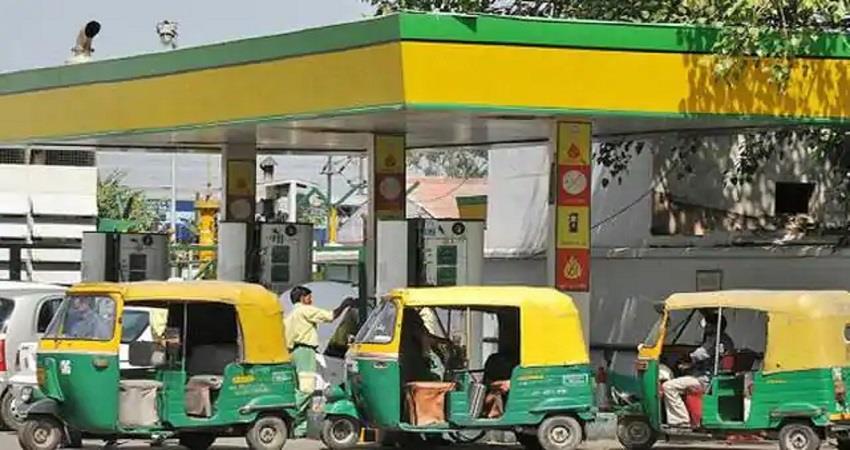 petrol diesel and cng retail price in delhi increased kmbsnt