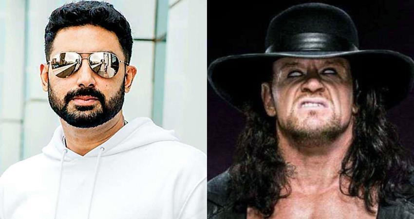 abhishek bachchan gives tribute the undertaker sosnnt