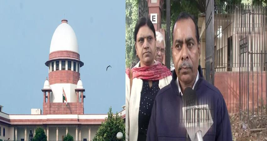 nirbhaya father statement on gang rape convict review petition supreme court