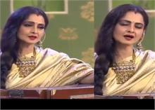 Video: जब रेखा ने गाया अमिताभ का गाना Rang Barse, झूम उठे थे लोग