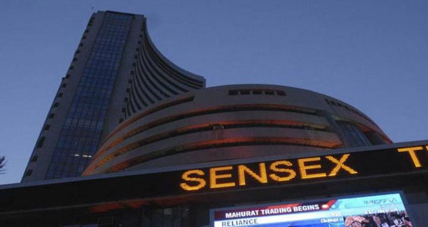 sensex gained over 100 points in early trade