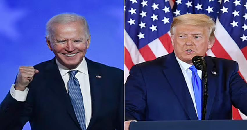 US Election Counting of votes in Biden Georgia close to majority prshnt