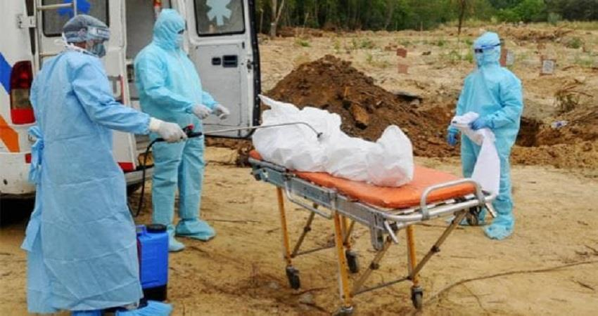 karnataka bellary covid patient dead bodies dump  jds bjp congress SOBHNT