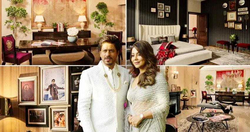shahrukh khan gauri giving couple a chance to spend a night srk delhi house aljwnt