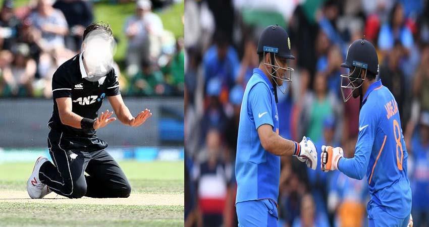 World Cup: Dhoni and Jadeja were scared the New Zealand fast bowler