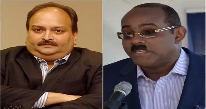 india send private jet to bring mehul choksi antigua and barbuda gaston browne pragnt