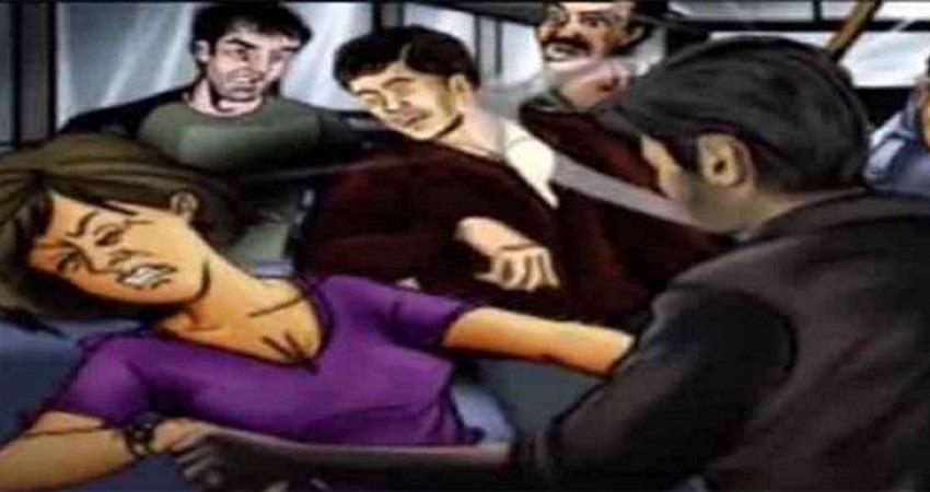 gang rape in a moving bus in noida kmbsnt