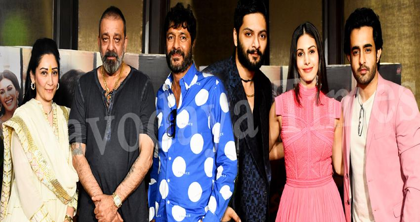 prassthanam starcast sanjay dutt, maanayata dutt and chunky pandey exclusive interview