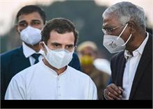 आपराधिक मानहानि मामले में अपना बयान दर्ज कराने गुजरात पहुंचे राहुल गांधी