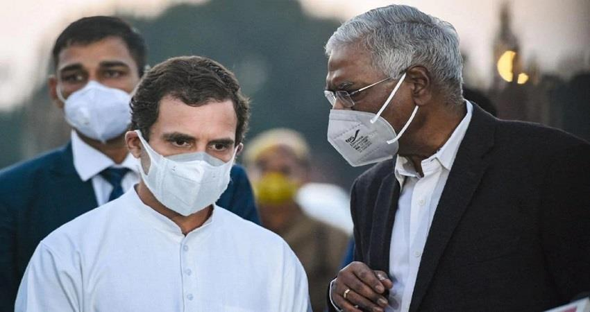 rahul gandhi reaches gujarat to record his statement in criminal defamation case kmbsnt