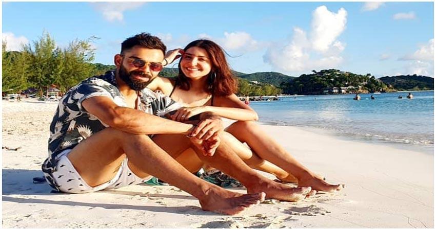 anushka sharma shared a hot photo virat kohli gave this reaction
