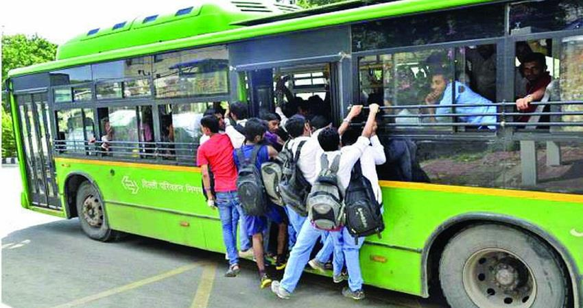 60 percent of people still travel in buses in Delhi Survey KMBSNT
