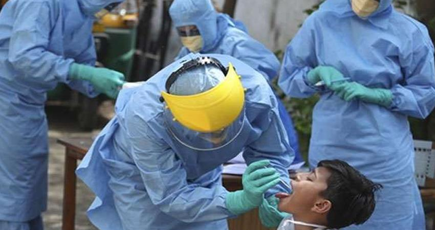 coronavirus 39,097 new cases were reported in a day in the country 546 patients died prshnt