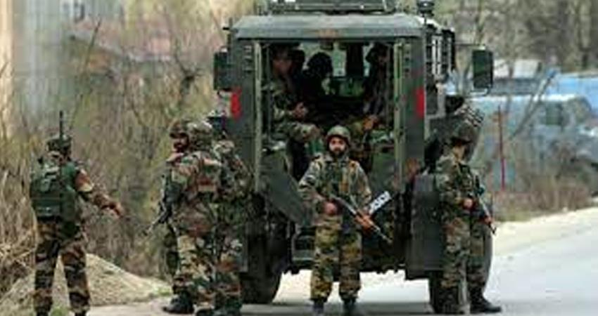Jammu and Kashmir Encounter in Bandipora district one terrorist killed prshnt