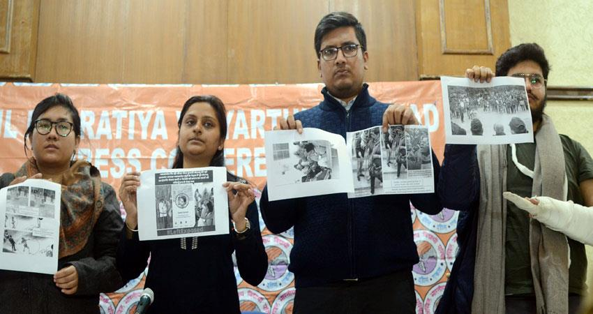 now 8 videos released by abvp left parties responsible for violence