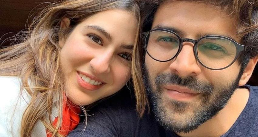 sara ali khan and kartik video viral during movie promotions