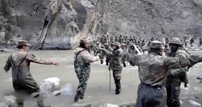 china released propaganda video on galvan clash sohsnt