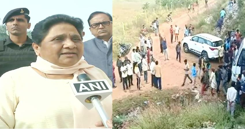 gang rape case  mayawati all states should take inspiration from hyderabad police