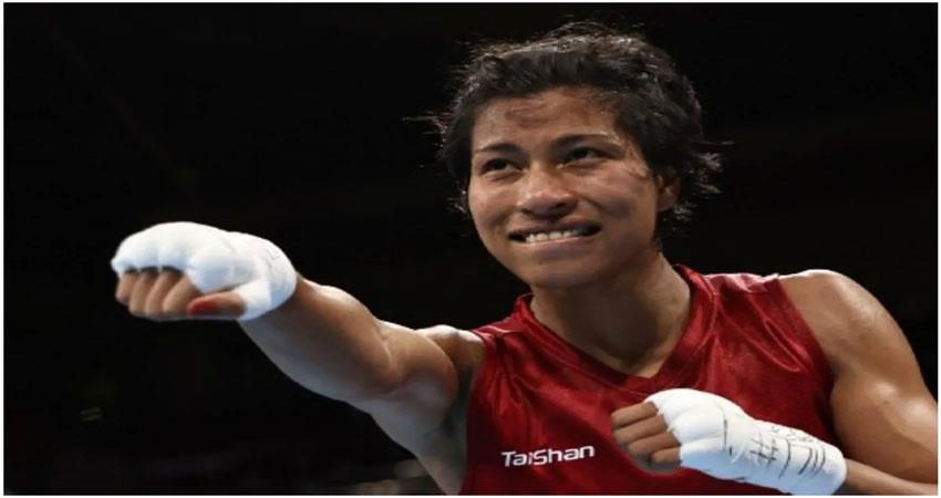 tokyo olympics: lovlina confirms india''''s medal in boxing musrnt