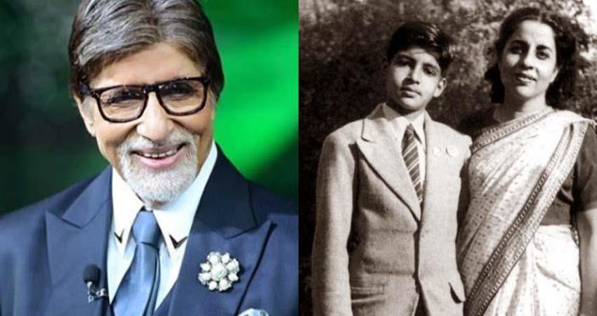 amitabh bachchan said he was almost named inquilab before his birth sosnnt