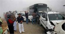 हरियाणा में कोहरे के कोहराम से सड़क हादसे में सात की मौत, चार घायल