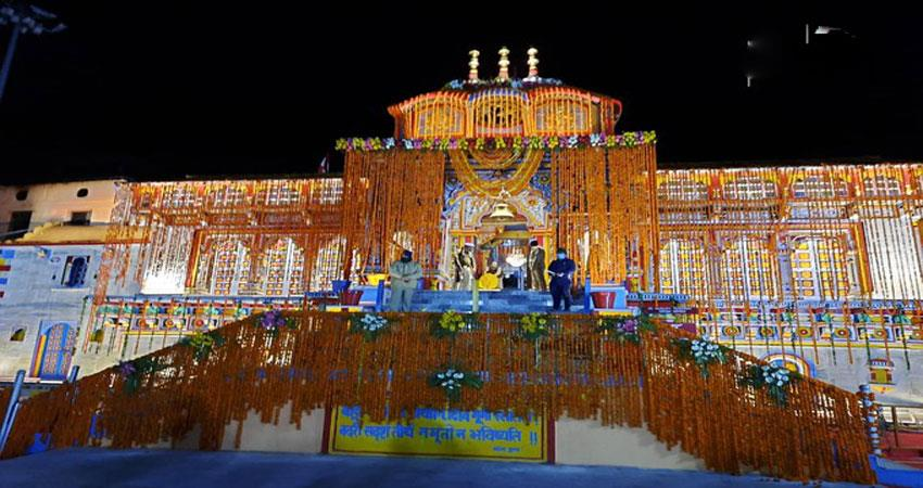 first worship of shri badrinath dham in the name of pm modi musrnt