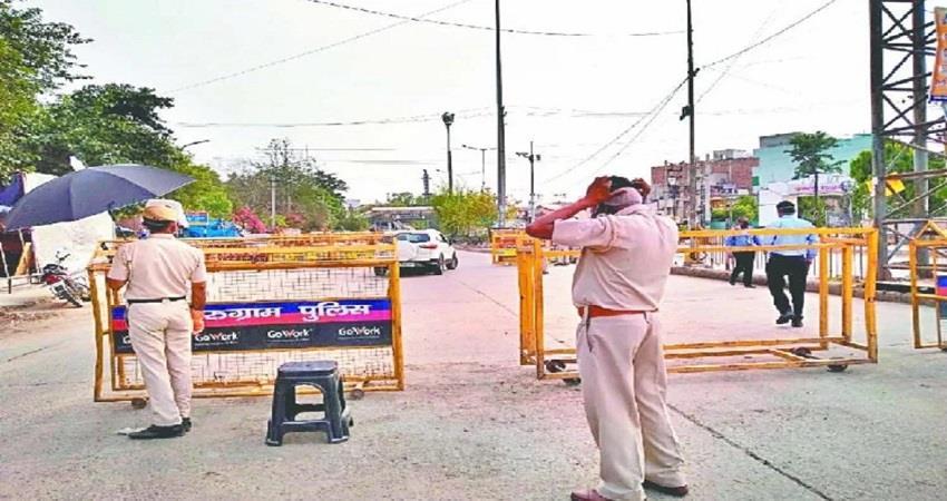 delhi haryana border sealed again by khattar govt coronavirus spread kmbsnt