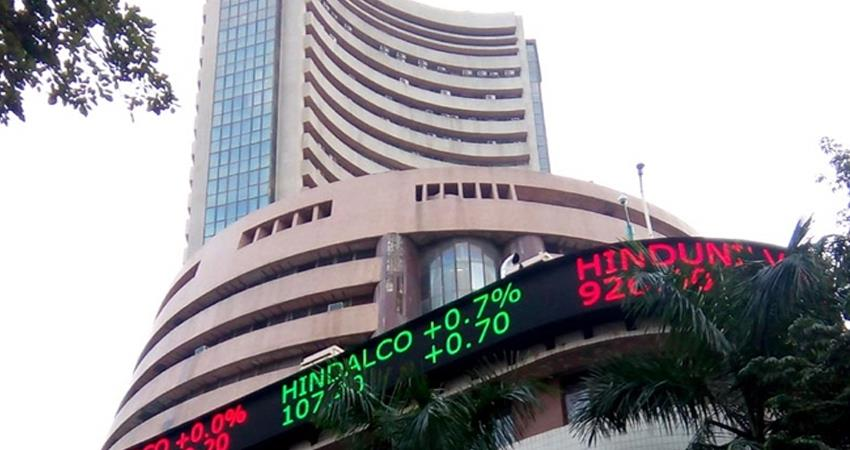 sensex slips in early trade nifty down rupee down four paise against us dollar prshnt