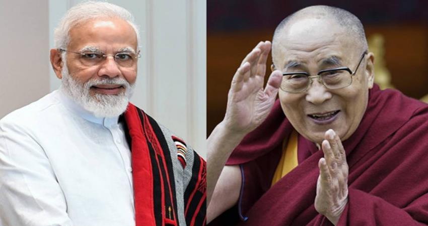 Dalai Lama congratulates PM Modi on his birthday prshnt