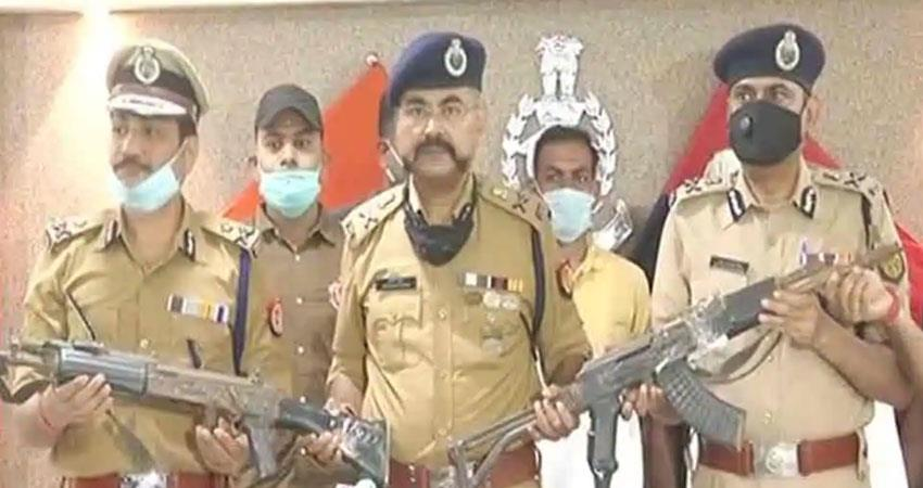 vikas dubey shashikant arrested arms recovered from police djsgnt