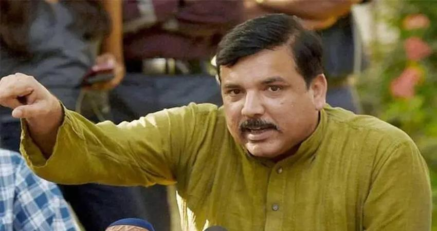 aap sanjay singh on jamia library videos of 15th december