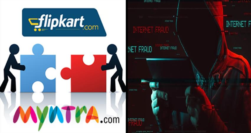 fraud steals customer data of flipkart and myntra