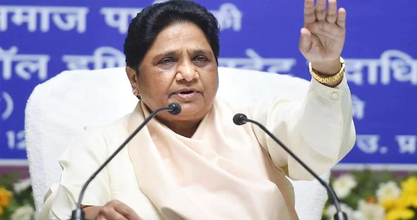 Mayawati government should repeal 3 agricultural laws in current session of Parliament prshnt